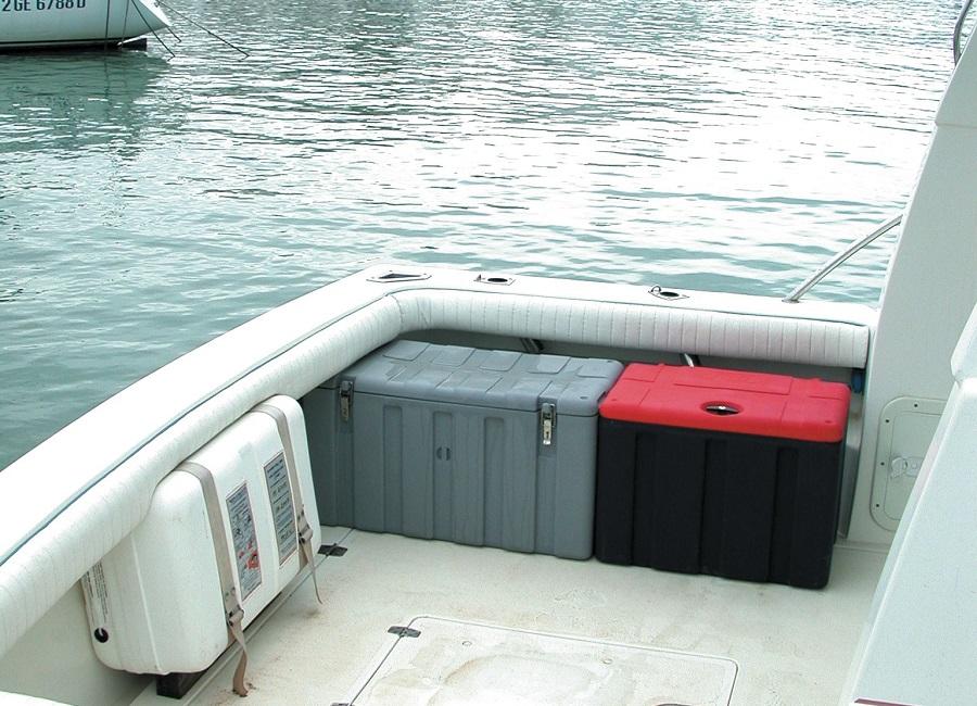 jolly baule in barca
