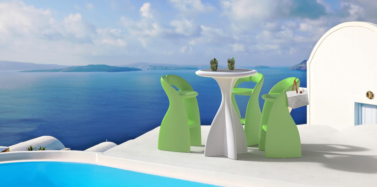Lounge Furniture Modum tavolo e sedie