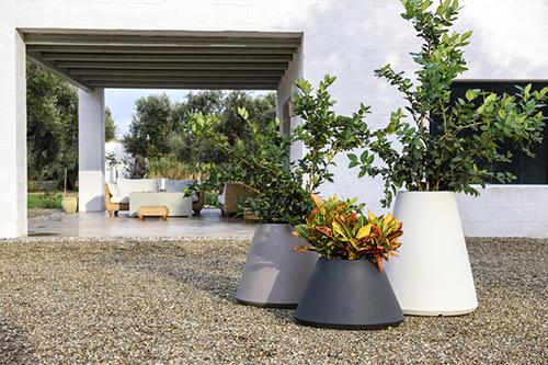 vasi e fioriere plastica class collection vasar telcom