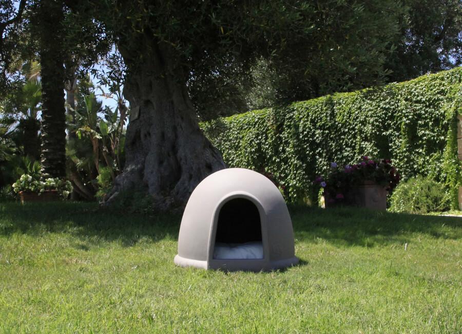 cuccia-forma-Igloo cane gatto-buddy telcom brindisi lecce