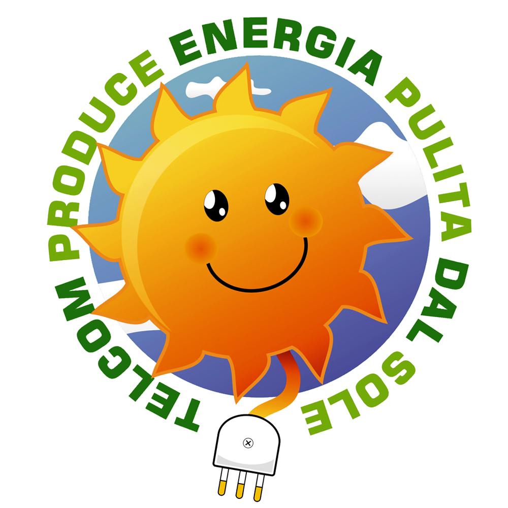 energia pulita dal sole telcom