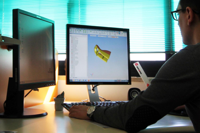 progettazione e disegno 3d prodotti in materiale termoplastico