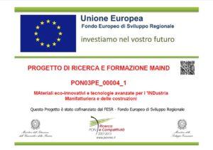 progetto di ricerca e formazione maind pon unione europea telcom spa