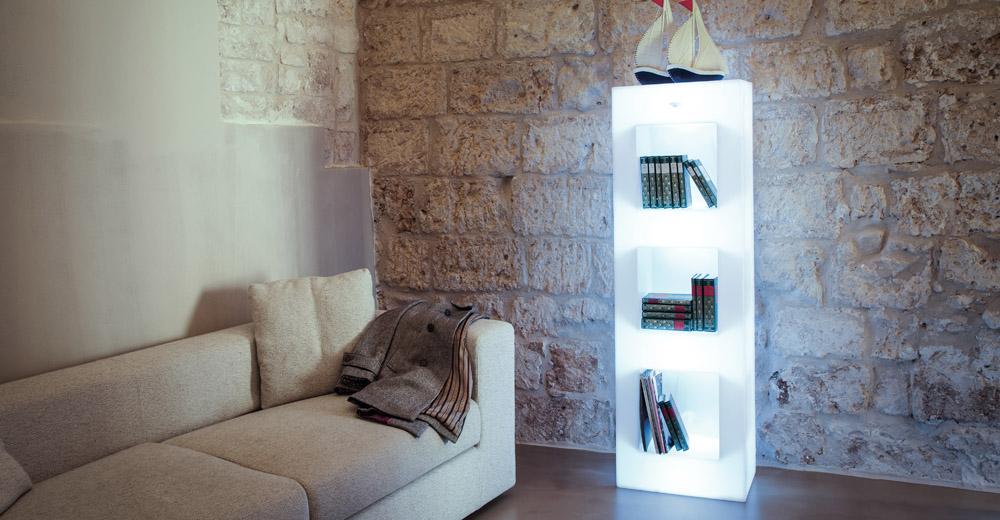 libreria complementi d'arredo plastica