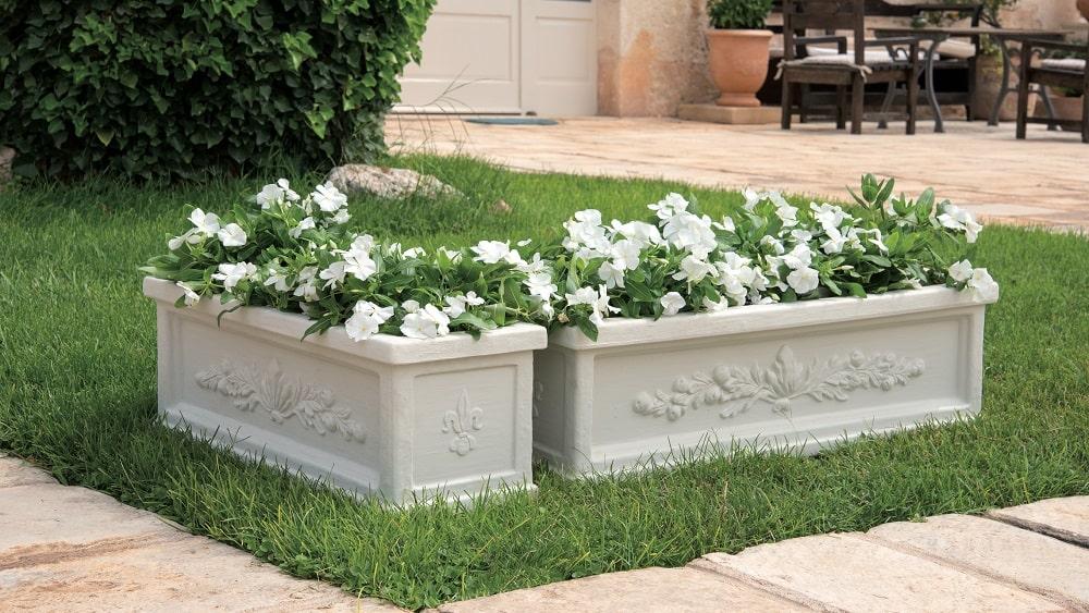 vaso per primule giardino primavera